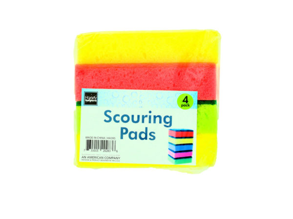 Scouring Pad Sponges(Pack of 4) Image