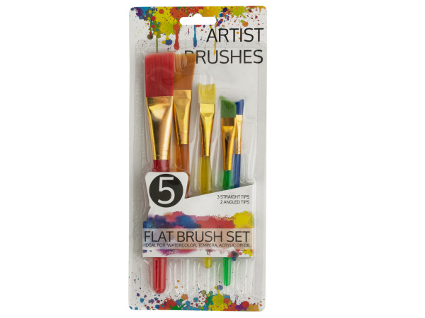 Artist Flat PAINT Brush Set
