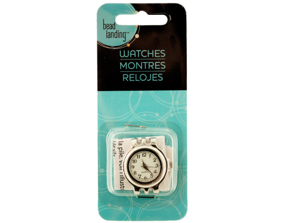 Craft Silver Tone WATCH Head