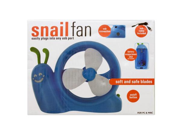 Battery Operated Snail USB FAN