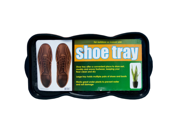 Textured SHOE & Boot Storage Tray