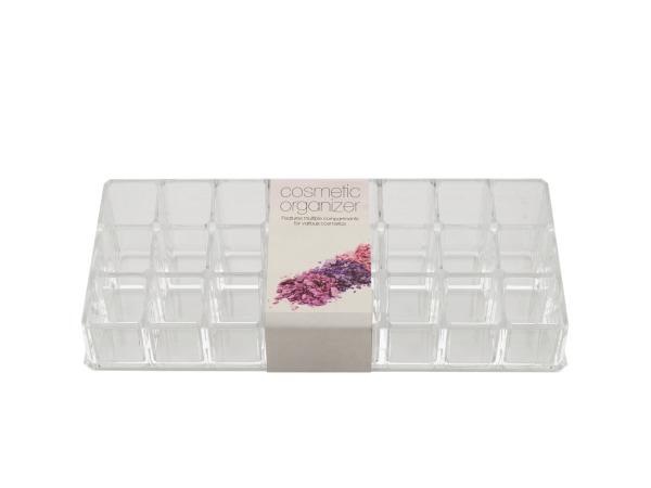 Multi Compartment Cosmetic Organizer