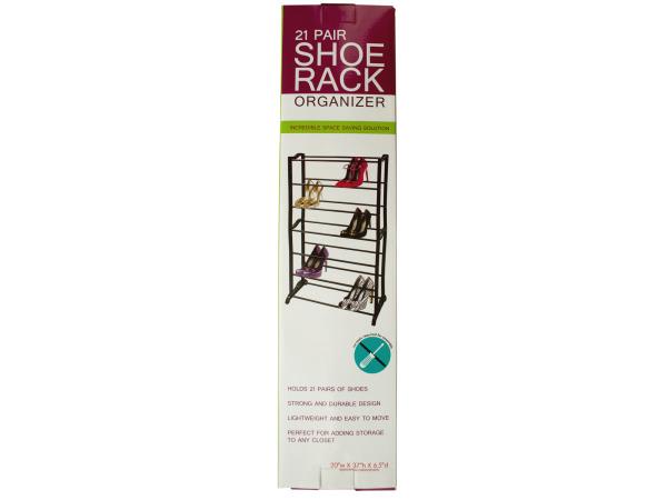 21 Pair SHOE Rack Organizer