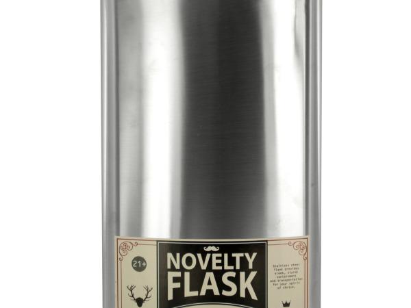 64 oz. Oversized Stainless Steel Novelty Flask