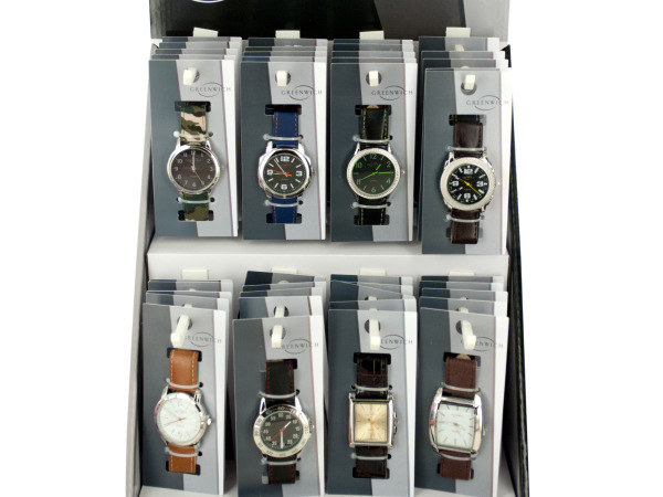 Men's Fashion WATCH Countertop Display