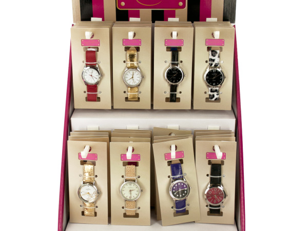 Ladies' Fashion WATCH Countertop Display