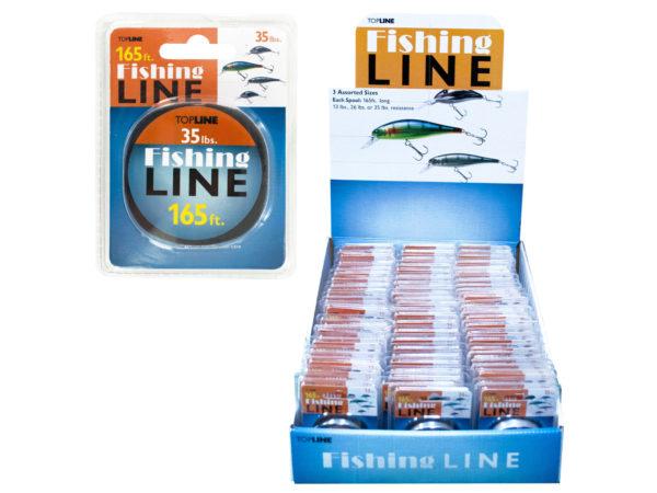 Shock Resistant FISHING Line Display