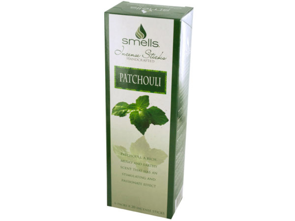 Patchouli Incense Sticks Countertop Display