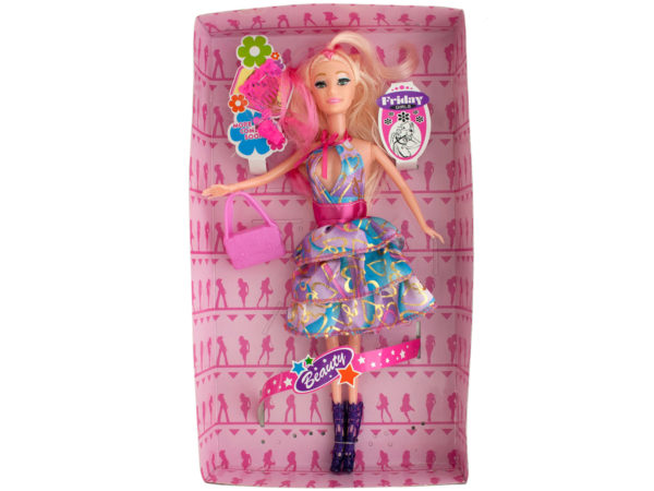 Glitter Fashion Doll with Accessories