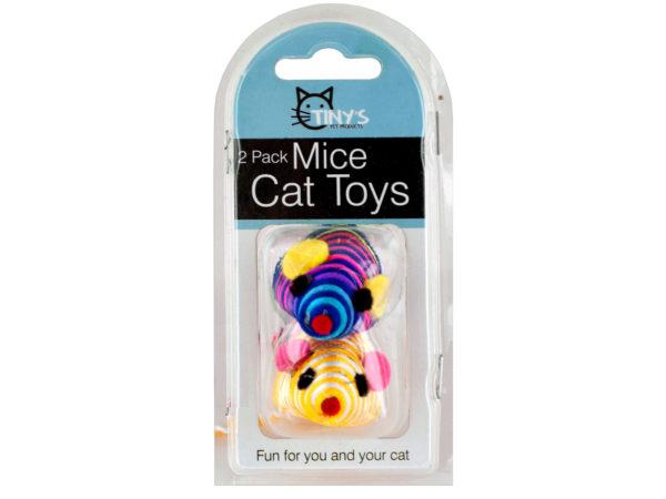 Striped Mice Cat TOYS Set