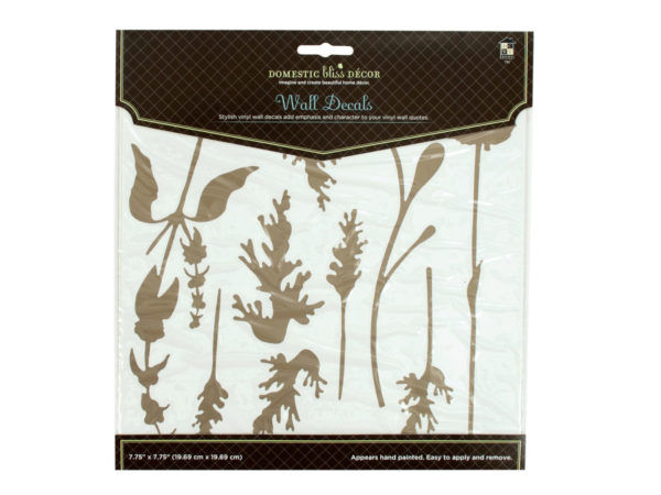 Winter Garden Self-Adhesive Wall DECALs