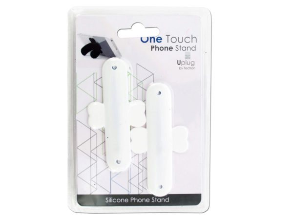 One Touch Silicone PHONE Stand Set
