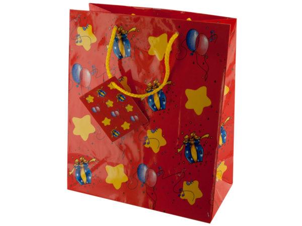Medium Stars & BALLOONs Gift Bag