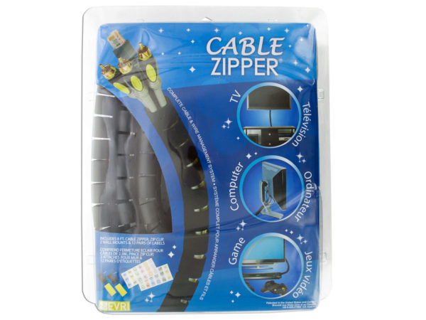 Cable Zipper Wire Management System
