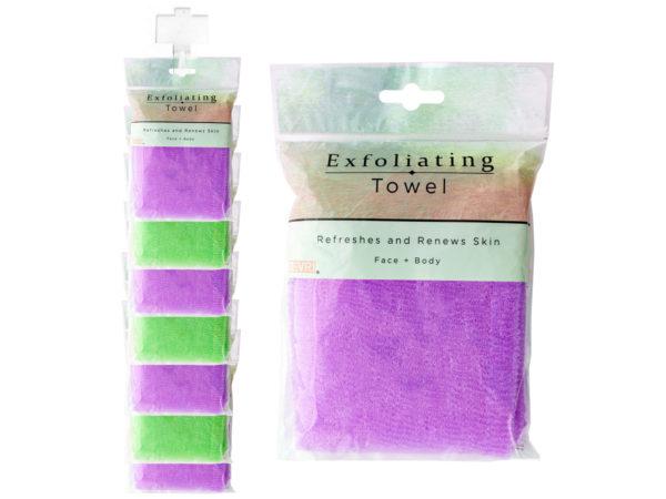 Exfoliating Shower Towel Clip Strip