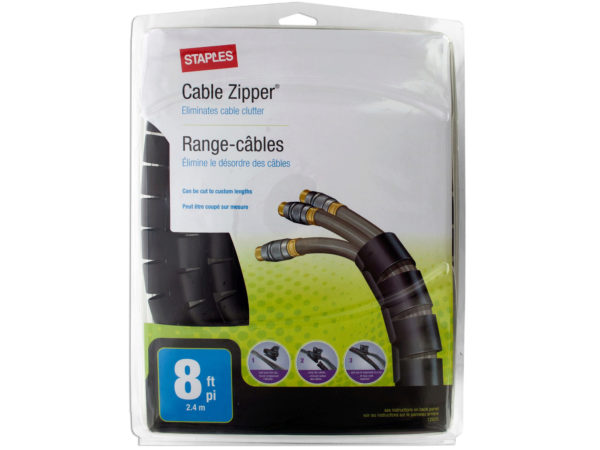 Staples Cable Zipper
