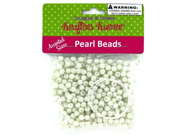 Plastic Craft PEARL Beads