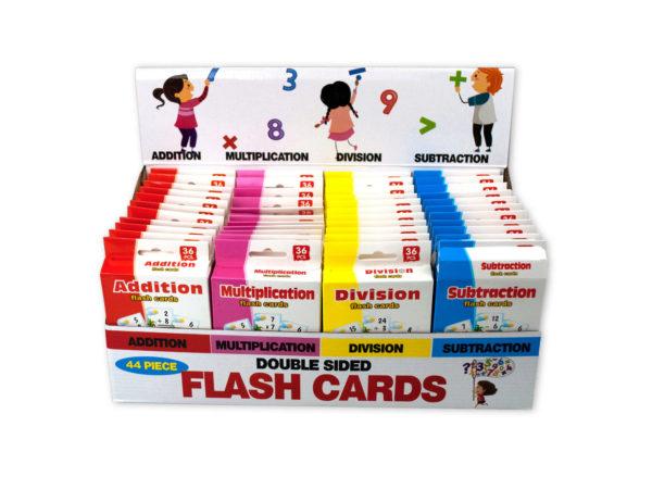 Jumbo Double Sided Flash Cards Countertop Display