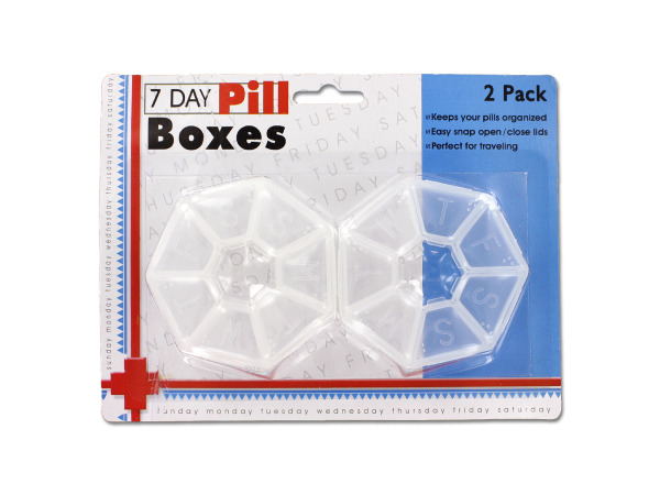 7-Day Pill Box Set Image