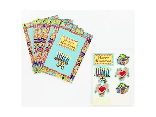 Kwanzaa Note Cards with ENVELOPES