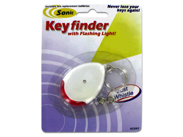 Sonic Key Finder Key Chain with Flashing Light Image