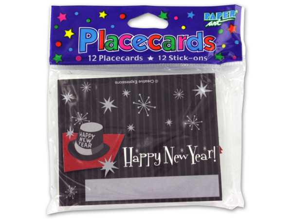 NEW Year's Placecards