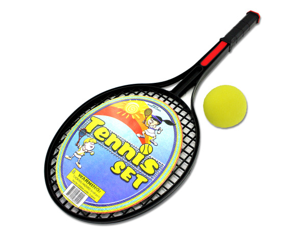 Tennis Racquet Set with Foam Ball