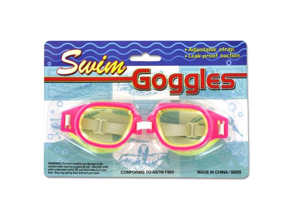 Leak-Proof Adjustable Swim GOGGLES