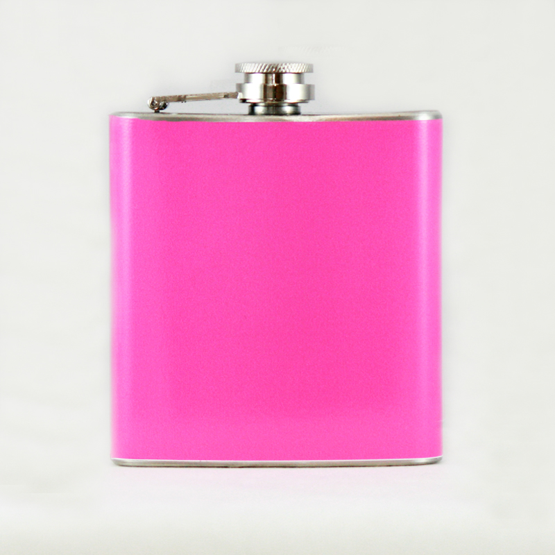 6oz Pink Flask for Women
