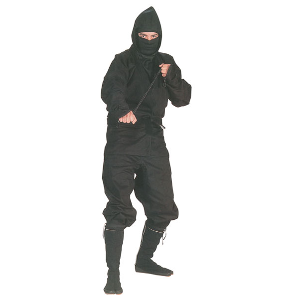 ''Authentic Ninja UNIFORM, Black''