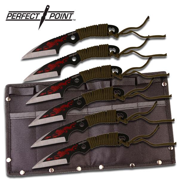 7pc THROWING KNIFE Set