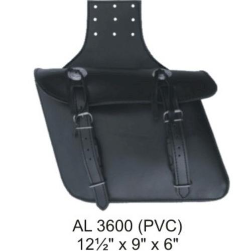 Faux Leather Saddle Bag